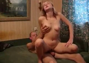 Look at how my slutty stepdaughter rides my boner