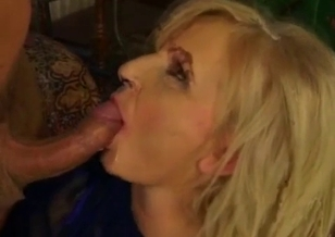 Dirty mom enjoys filthy sex with her lucky son