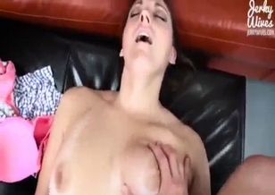 Nice cousin sucks tasty boner of a horny daddy