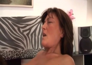 My mom is sucking my cock better than sister