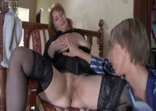 Brother orally drills his stepsister